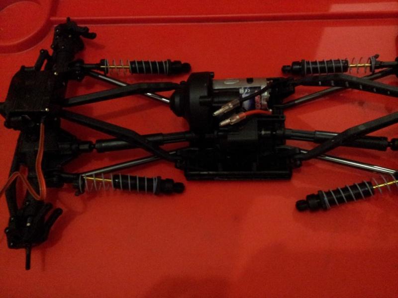 build - Boolean21's Axial Wraith build - Updates: New Paint scheme - Captain America's Axial Wraith 2011-130