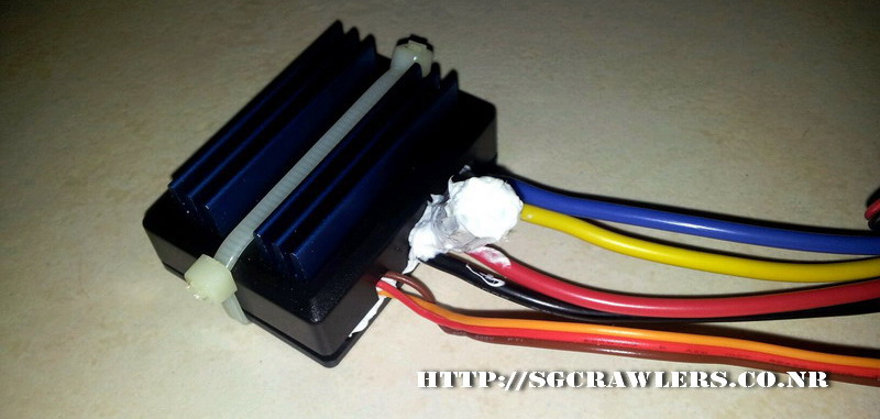 R2hobbies Waterproof ESC Trial and Review 2012-087