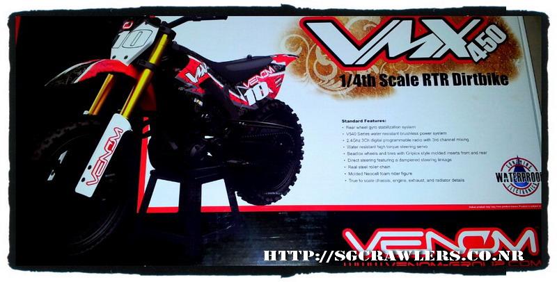 Boolean21's Venom VMX450 1/4 Motocross Bike 2012-126