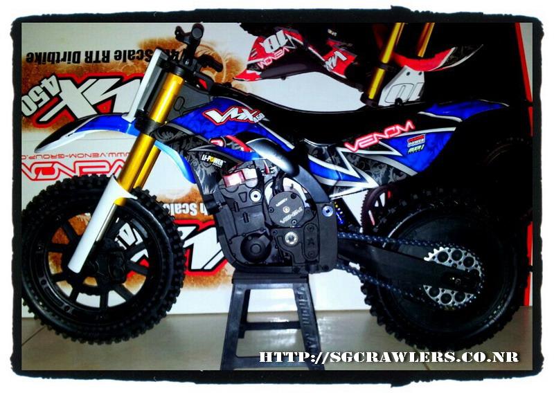 Boolean21's Venom VMX450 1/4 Motocross Bike 2012-128