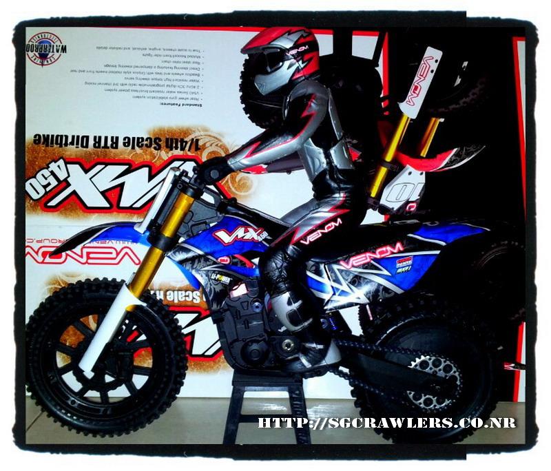 Boolean21's Venom VMX450 1/4 Motocross Bike 2012-129