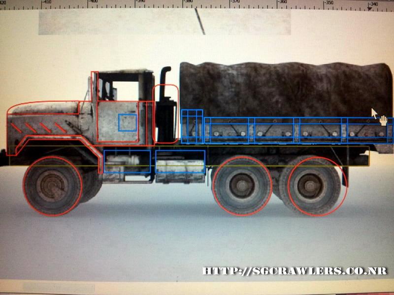 build - Boolean21's 1/10 M923 - 5 ton truck - Newbie try to scratch build a truck body... :D 2012-210