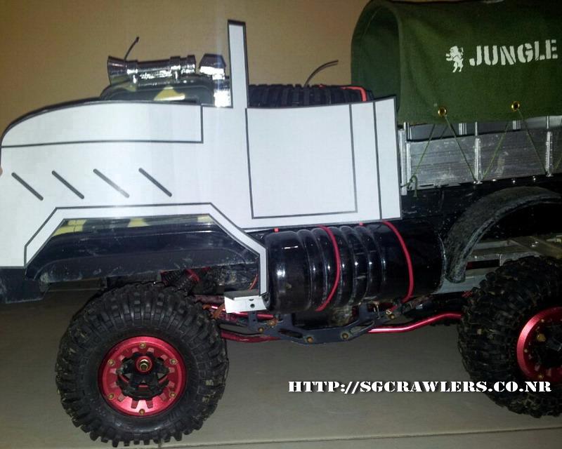 build - Boolean21's 1/10 M923 - 5 ton truck - Newbie try to scratch build a truck body... :D 2012-213