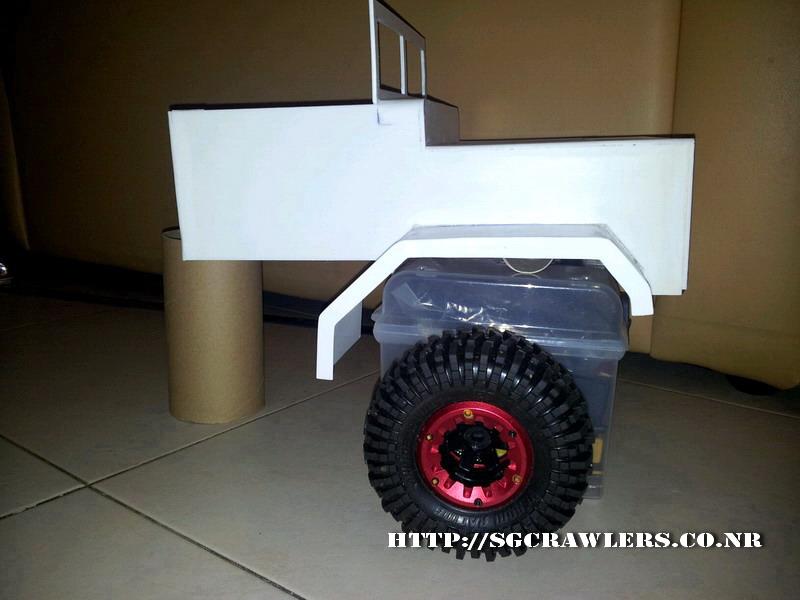 build - Boolean21's 1/10 M923 - 5 ton truck - Newbie try to scratch build a truck body... :D 2012-249