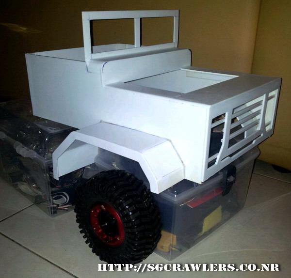 build - Boolean21's 1/10 M923 - 5 ton truck - Newbie try to scratch build a truck body... :D 2012-251