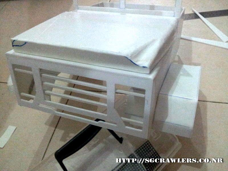 build - Boolean21's 1/10 M923 - 5 ton truck - Newbie try to scratch build a truck body... :D 2012-255