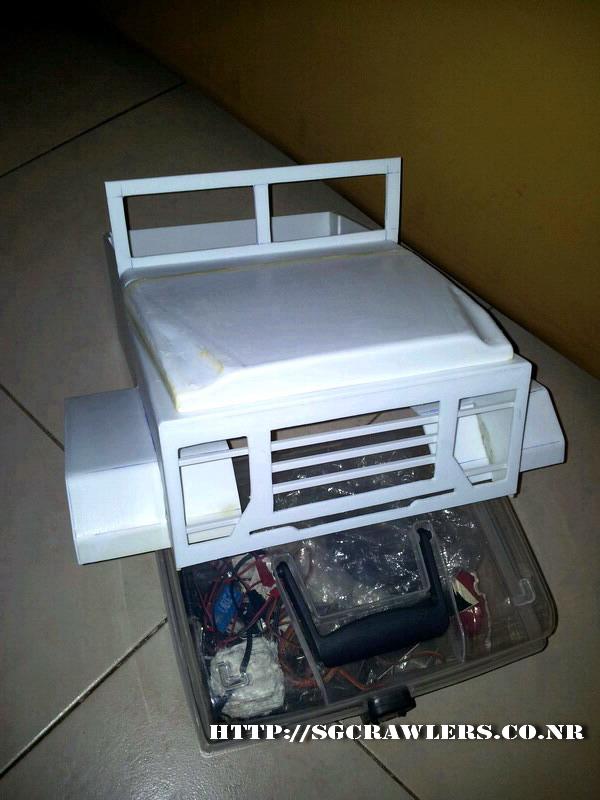 build - Boolean21's 1/10 M923 - 5 ton truck - Newbie try to scratch build a truck body... :D 2012-256