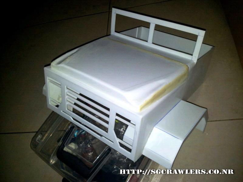 build - Boolean21's 1/10 M923 - 5 ton truck - Newbie try to scratch build a truck body... :D 2012-257