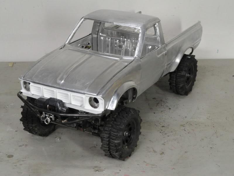 toyota - True scale aluminium toyota hilux... Check it out... Dsc00010