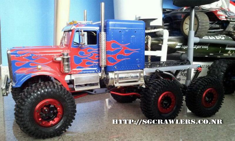 Teck's Venom Creeper 6x6 - Optimus Prime Truck! Img-2076