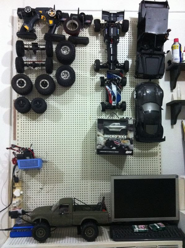 SGCrawlers Workshops - Post photos of your RC Workshop / RC Garage Liew_p10