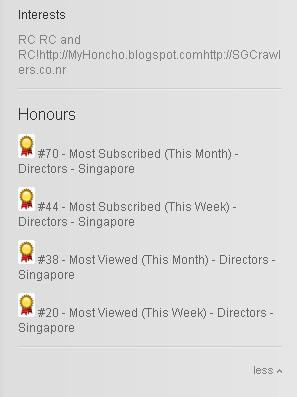 [ 16 Jan 12 ] SGCrawlers Youtube Channel Updates! Sgc_ch11