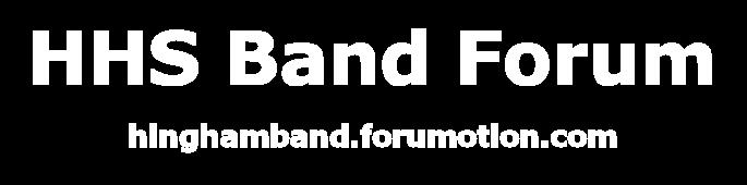 Hingham High School Band Forum