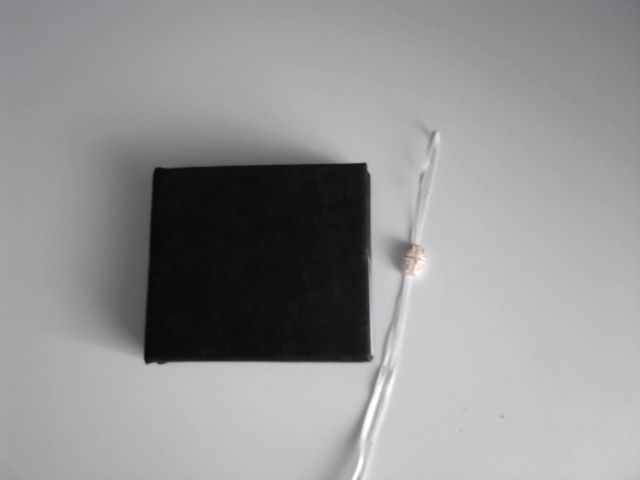 Ancient book - Black & White diary P21-0915