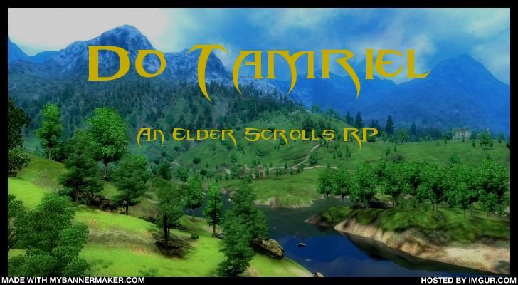 Do Tamriel: Elder Scrolls RP