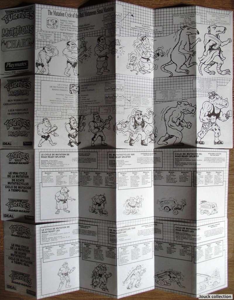 [Data Bank] Notices et planches de stickers TMNT Mutati13