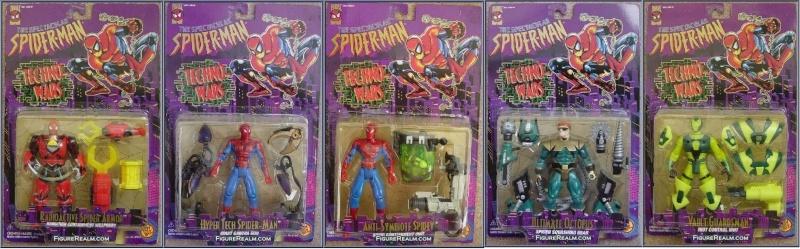 Spider-Man/The Animated Serie (Toy Biz) 1994-1996  Techno10