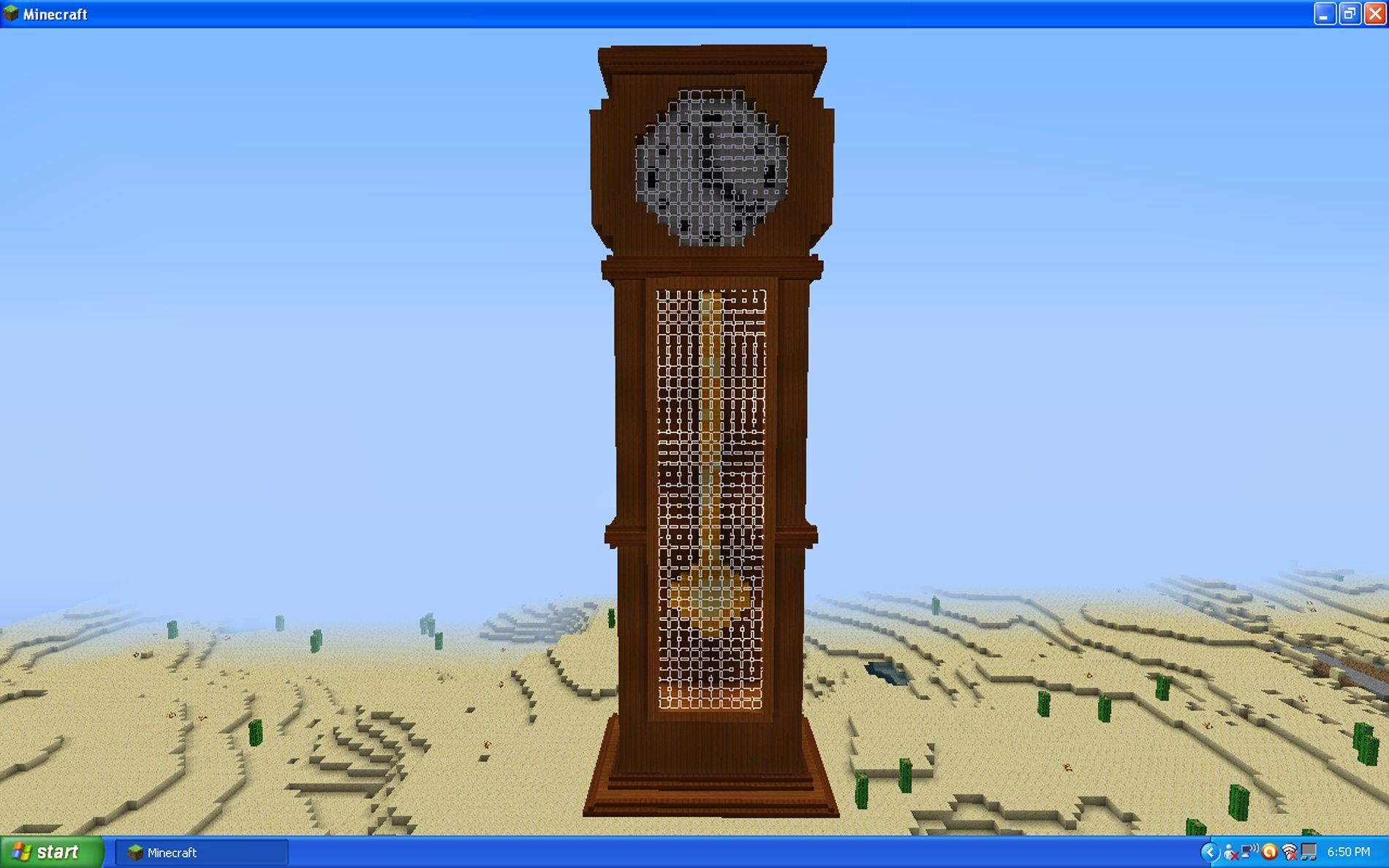 Minecraft Creations Gclock11