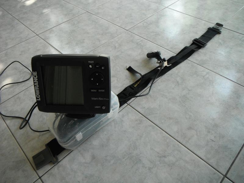 Support de sondeur pour float tube Dscf0520