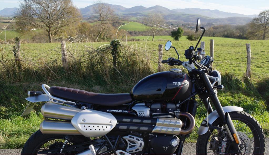 Triumph Scrambler 1200 XC, le trail naturiste 7710