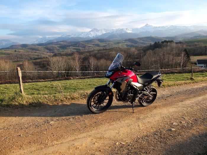 Essai de la Honda CB 500 X Dscf5813