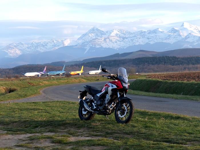 Essai Honda CB 500 X Dscf5911