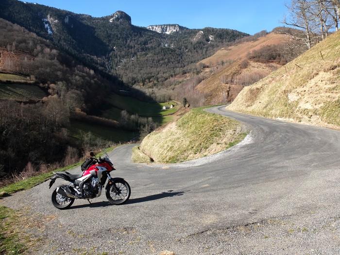 Essai Honda CB 500 X Dscf5912
