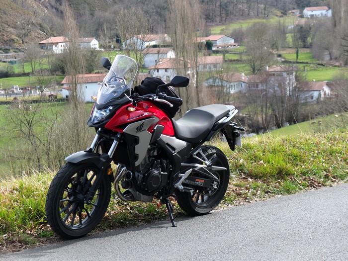 Essai Honda CB 500 X Dscf5913