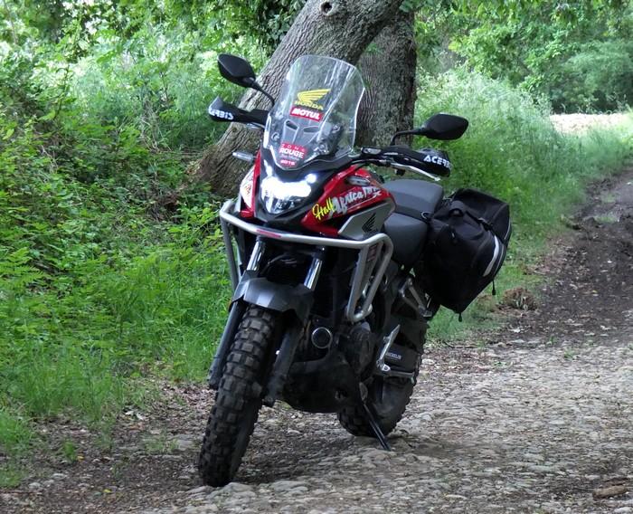 Honda CB 500 X, ma petite Africa Twin Half2910