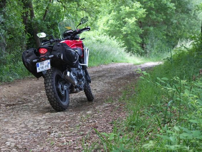 Honda CB 500 X, ma petite Africa Twin Half3310
