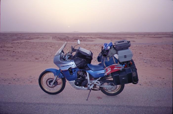 Honda CB 500 X, ma petite Africa Twin Libye110