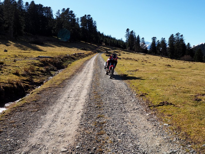 Honda Africa Twin CRF 1100 L, le trail qui trace sa route P2060110