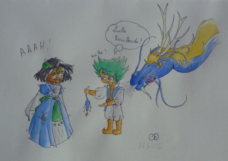 Saphirina a sorti ses crayons ! - Page 16 Dragon11