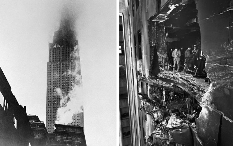 B25 HISTOIRE : Le B25 qui s'est écrasé dans l'Empire State Building B-25-c10