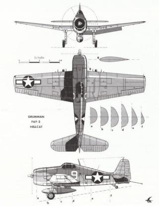 GRUMMAN F6F HELLCAT F6f3_310