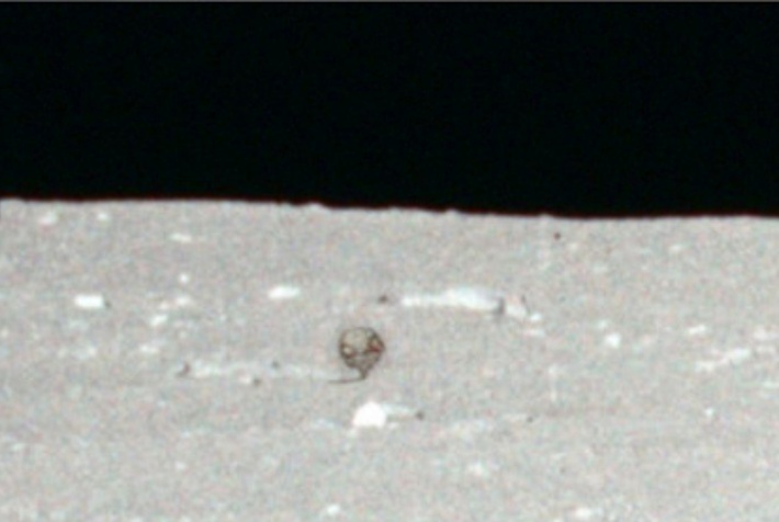 Apollo 11 Anomaly on the Lunar Surface A1110