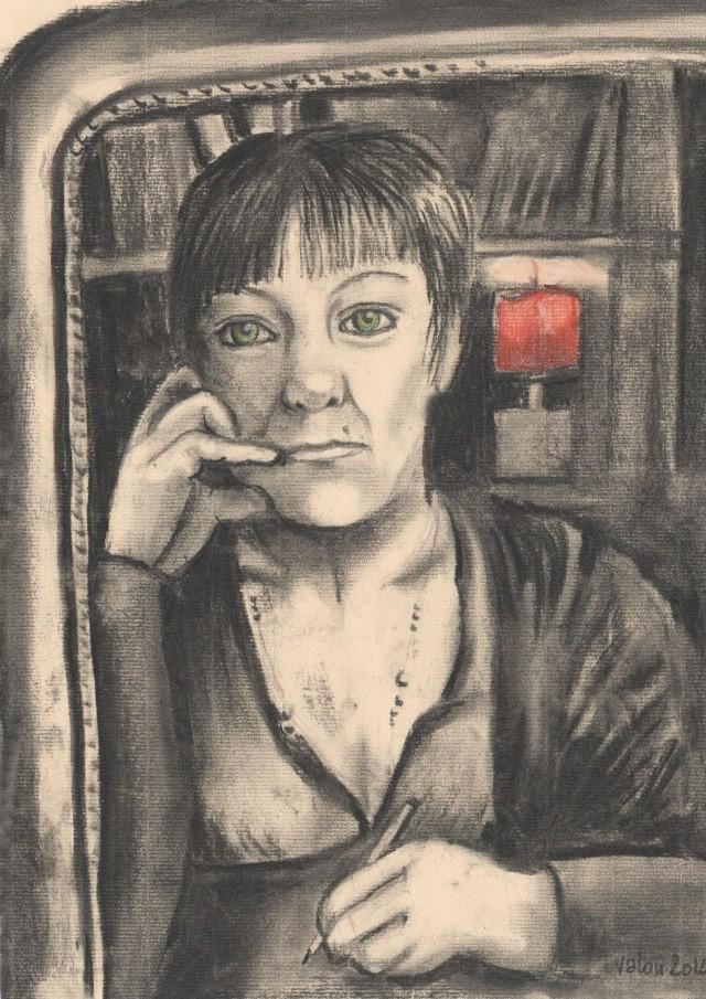 Face au miroir - autoportrait Autopo10