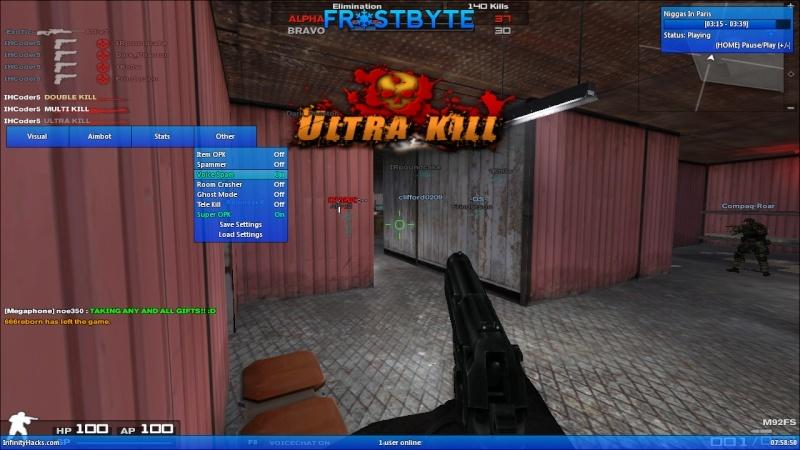Combat Arm Hacks!- Frostbyte by N00B Fb1310
