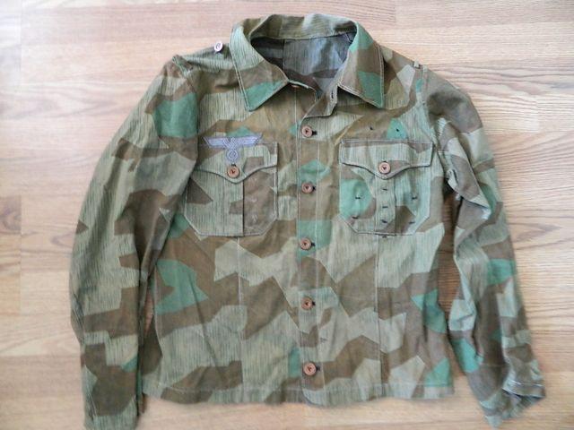 Splinter officers tunic tailor made . Dscn2622
