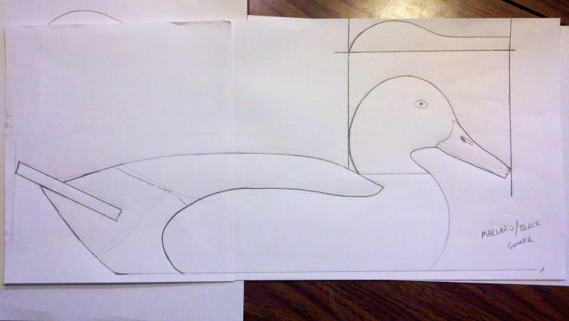 Mallard Pattern 2012-012