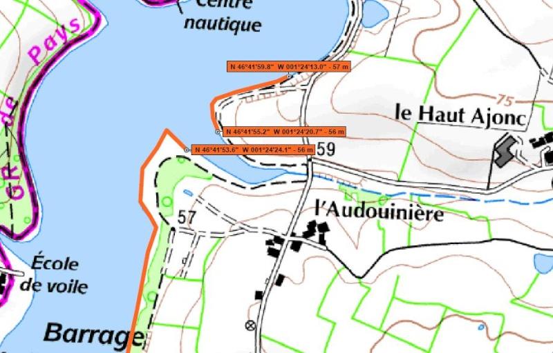 Parcours Pêche de Nuit de la Carpe : Les lacs Aa227