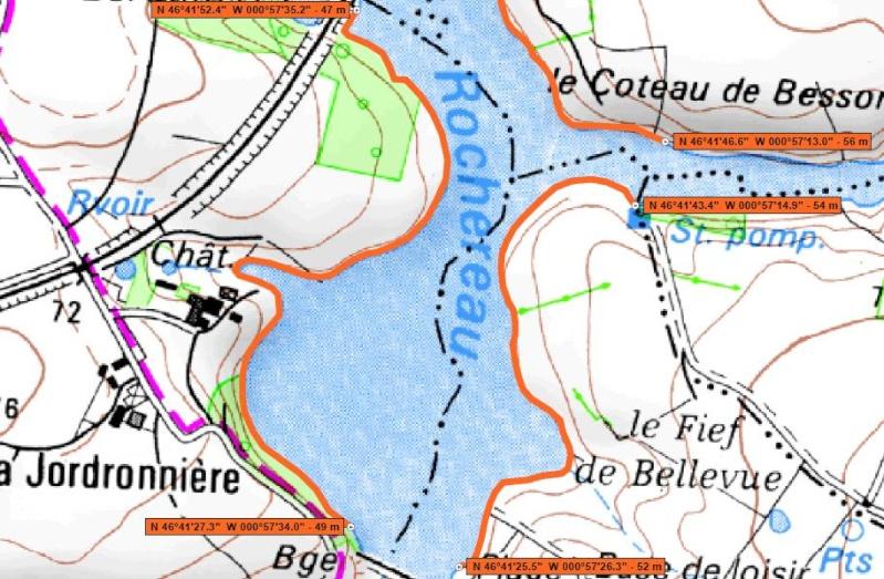 Parcours Pêche de Nuit de la Carpe : Les lacs Aa228