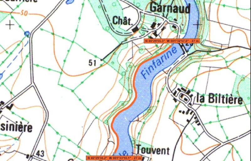 Parcours Pêche de Nuit de la Carpe : Les lacs Aa233