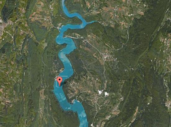 Lac de Vouglans – Grand lac public – Jura (39) Aa276