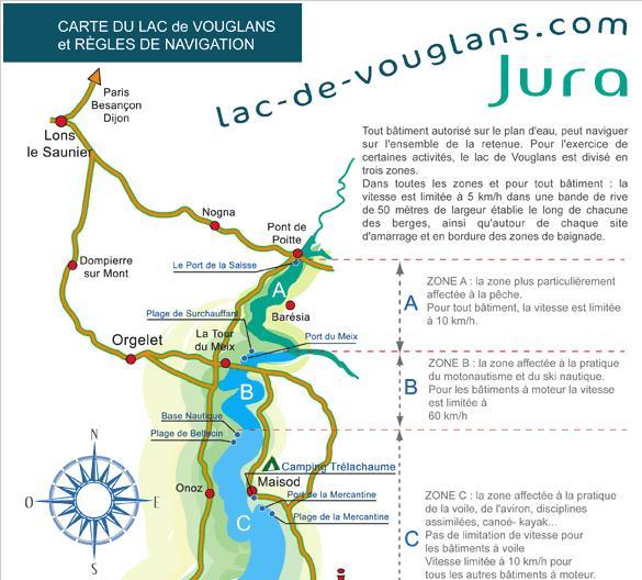 Lac de Vouglans – Grand lac public – Jura (39) Aa277