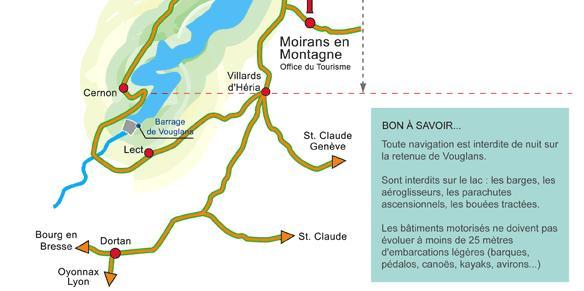 Lac de Vouglans – Grand lac public – Jura (39) Aa278