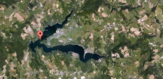 Lac de Maury – Grand lac public – L'Aveyron (12) Aa338