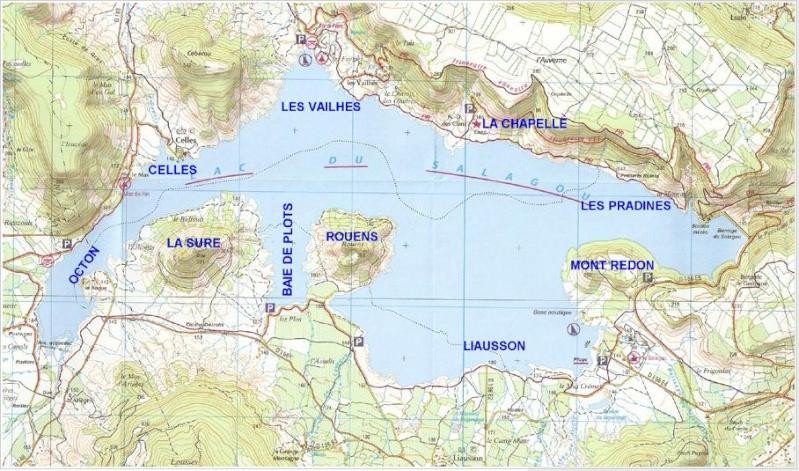 Lac du Salagou – Grand lac public – Hérault (34 Aa356
