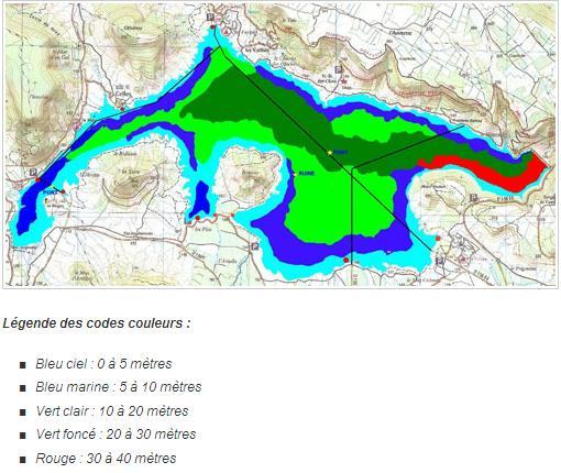 Lac du Salagou – Grand lac public – Hérault (34 Aa358