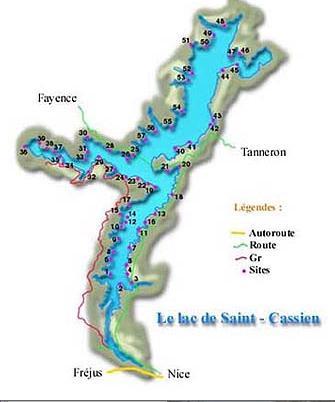 Lac de Saint-Cassien – Grand lac public – Le Var (83) Aa361